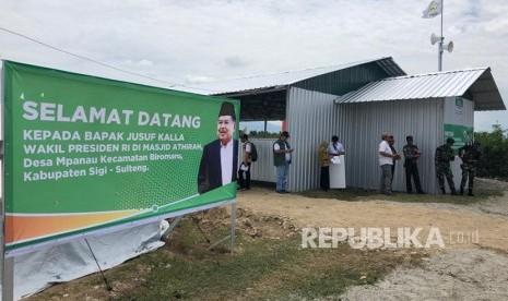JK Kunjungi Masjid Bantuan DMI di Kabupaten Sigi