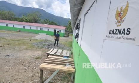 Baznas Resmikan Sekolah Darurat di Lombok
