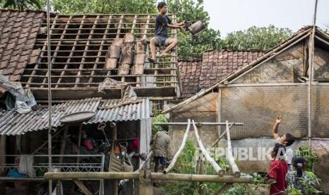 BNPB: 640 Rumah di Rancaekek Rusak Akibat Puting Beliung