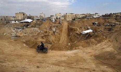 Israel Temukan Enam Terowongan Hizbullah di Lebanon