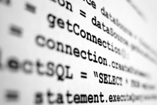 Kode pemrograman software (Ilustrasi)