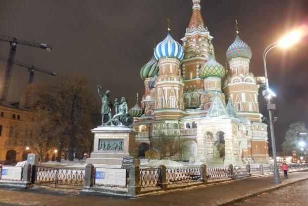 Kremlin di kota Moskow.