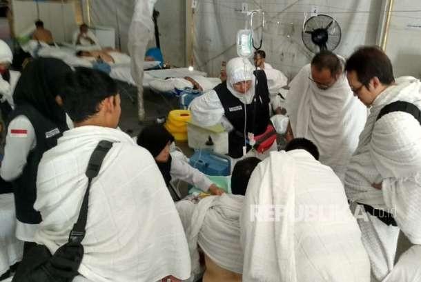 Permalink to Posko Kesehatan Arafah Mulai Disesaki Jamaah