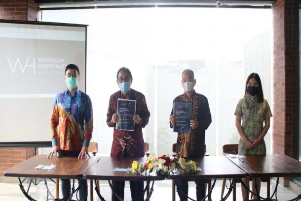 The Village Bumi Kadamaian Bogor dibawah naungan Vincentius Hakim Kwee selaku Komisaris PT Bumi Pesona Kahyangan dan Anissa Hakim Direktur PT Bumi Pesona Kahyangan telah resmi bergabung bersama management Waringin Hospitality Hotel Group.