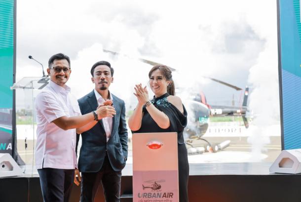 Urban air adalah salah satu perusahaan helikopter yang sedang  berkembang saat ini di Bali.