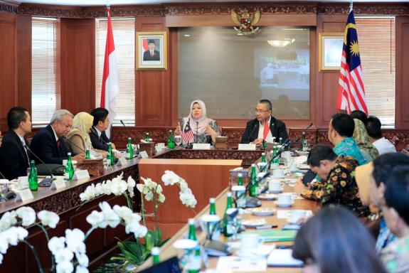 Kementerian Pembangunan Malaysia Temui Mendes Pdtt Republika Online