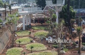 Revitalisasi Tiga Taman di Jakpus Ditunda karena Pandemi