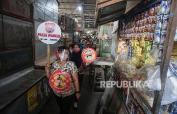 Pedagang Positif Covid-19, Pasar Harjodaksino Kembali Tutup