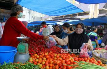 Harga Kebutuhan Pangan Merangkak Naik H-4 Lebaran di Cianjur