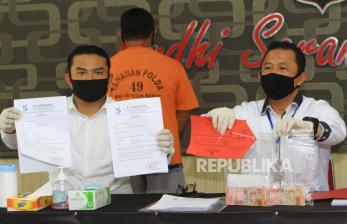 Polres Tarakan Tangkap Dua Pemalsu Surat Tes Usap PCR Palsu