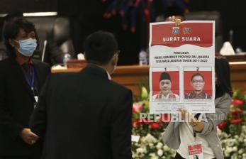 In Picture: Proses Pemilihan Wakil Gubernur di DPRD DKI Jakarta