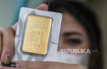 Harga Emas Antam Turun Lagi, Rp 948.000 per Gram