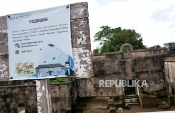 In Picture: BPCB Yogyakarta Menutup Sementara 11 Kawasan Cagar Budaya