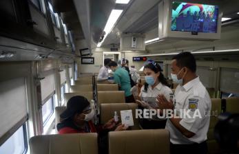 KAI Daop 3 Operasikan 53 Perjalanan Kereta Saat Cuti Bersama
