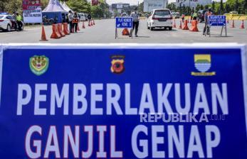 Ganjil Genap di Bandung, 650 Kendaraan di Putar Balik