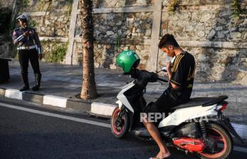 Razia Masker di Padang Panjang Jaring 180 Warga