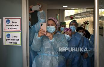 Tertinggi Sejak Pandemi, Spanyol Catat 44.357 Kasus