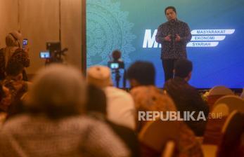 In Picture: Erick Thohir Lantik Masyarakat Ekonomi Syariah (MES) DKI