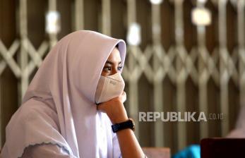 In Picture: SMKN 1 Yogyakarta Gelar Uji Coba Pembelajaran Tatap Muka