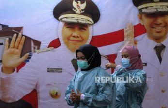 75 Persen Pelanggaran PPKM Surabaya karena tak Pakai Masker