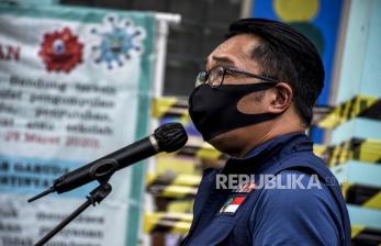 Ridwan Kamil Maklumi Vaksinasi Kabupaten Bogor Masih Rendah