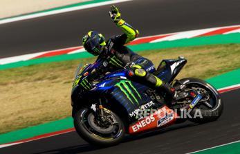 Rossi Masih Sangat Kompetitif, Kata Bos Yamaha