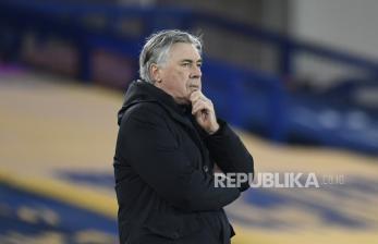 Ancelotti Prediksi Perebutan Tiket Eropa Sampai Akhir Musim