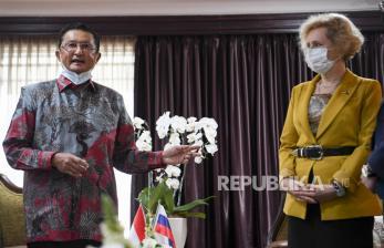 In Picture: Pertemuan Pimpinan MPR dengan Dubes Rusia untuk Indonesia