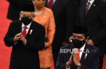 Survei: Kepuasan Kinerja Jokowi-Ma'ruf 47,1 Persen