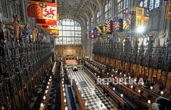 In Picture: Prosesi Pemakaman Pangeran Philip di Istana Windsor (2)