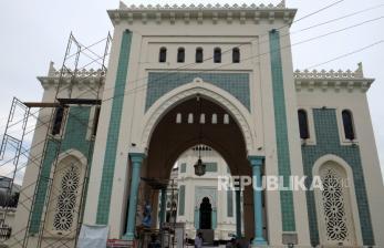 Masjid Raya Al Mashun Medan Gelar Shalat Tarawih Perdana