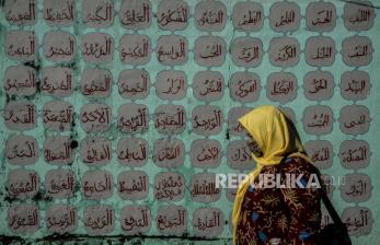 In Picture: Mural Islami Hiasi Sudut Kota Bogor
