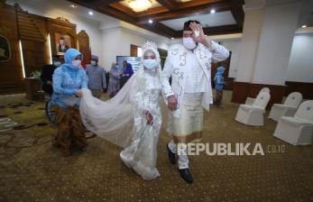 Kemenag: Tunda Pernikahan Sampai Covid-19 Selesai