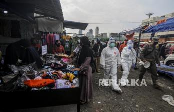 Pasar Sokaraja Diklaim Sudah Aman Dikunjungi