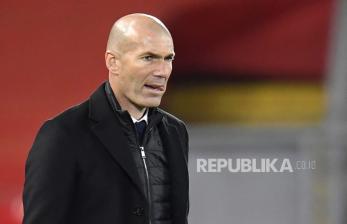 Penjelasan Zidane Soal Kelanjutan Nasibnya di Real Madrid