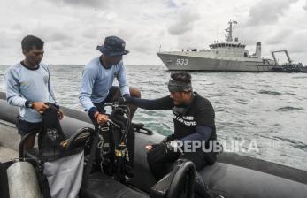 Tim Gabungan Gunakan ROV untuk Temukan CVR Sriwijaya Air