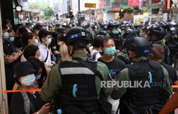 11 Pengunjuk Rasa di Hong Kong Ditangkap