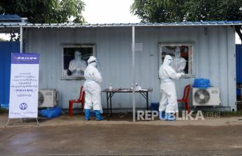 Inggris: Separuh Warga Myanmar Bisa Terinfeksi Covid-19