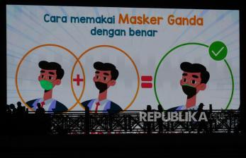In Picture: Indonesia Nol Kawasan Zona Merah Covid-19