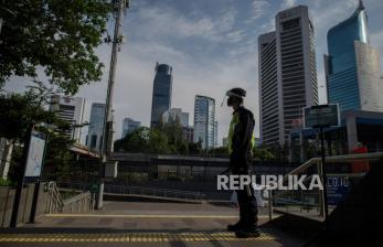 In Picture: Jakarta Pasca Pengajuan PSBB DKI Jakarta Disetujui Menkes