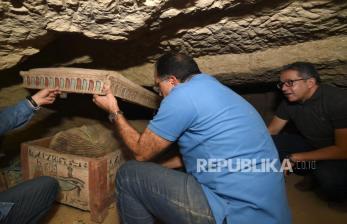 Kuil Pemakaman Kuno Ditemukan di Kairo