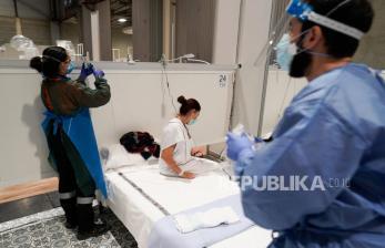 Kematian Akibat Virus Corona di Spanyol Dekati 14 Ribu Jiwa