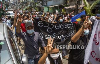 Kelompok Anti-Kudeta Myanmar Bentuk Pasukan Pertahanan