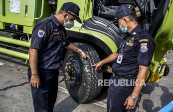 In Picture: Inspeksi Kemamanan Bus Angkutan Umum (1)