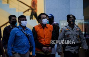 Azis Syamsuddin Bungkam Setelah Ditetapkan Tersangka