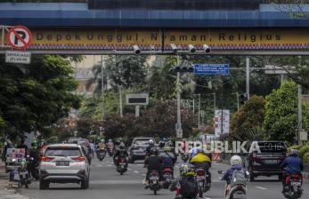 In Picture: Mulai 1 November, Tilang Elektronik Berlaku di Kota Depok