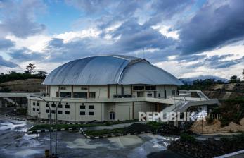 In Picture: Venue Voli PON XX Papua dalam Tahap Pemeliharaan