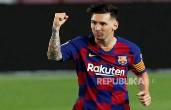 Veron Sebut Lionel Messi Merasa tak Nyaman di Barcelona
