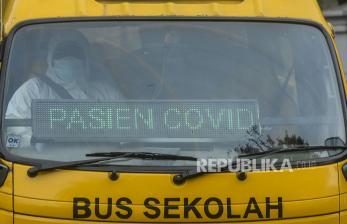 In Picture: Lonjakan Kasus Baru Covid-19 di Jakarta