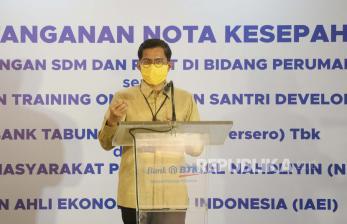 BTN Kantongi Pangsa Pasar KPR Subsidi 89 persen